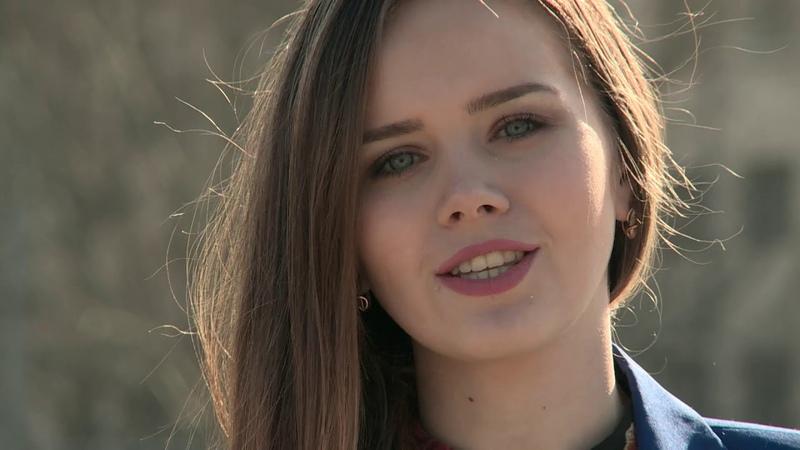 Елена Михнова - кандидат в депутаты Молодёжного парламента ДНР