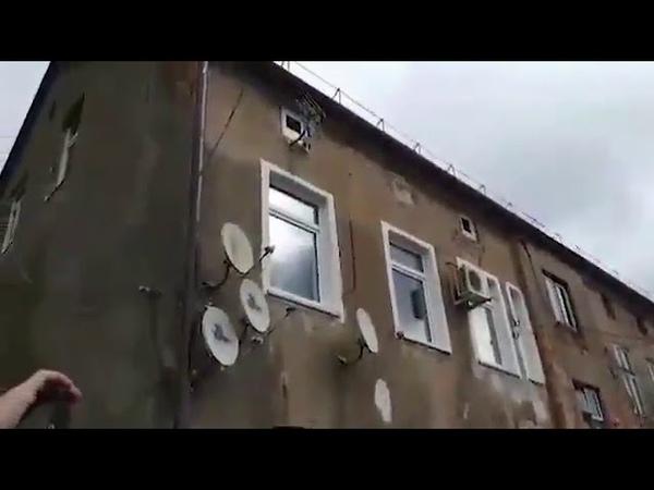 В один из районов города Советск в Калининградской области провели газ, устроили по этому поводу пра