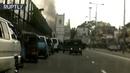 Sri Lanka blasts Moment of Colombo church explosion caught on dashcam