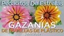 GAZANIAS hechas con botellas de plástico MANUALIDADES RECICLADAS subtitulado