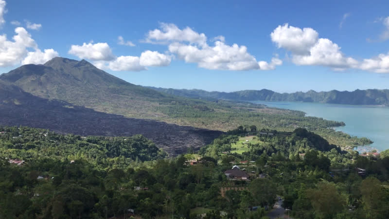 Гунунг Батур South Batur Kintamani Бангли Бали Индонезия