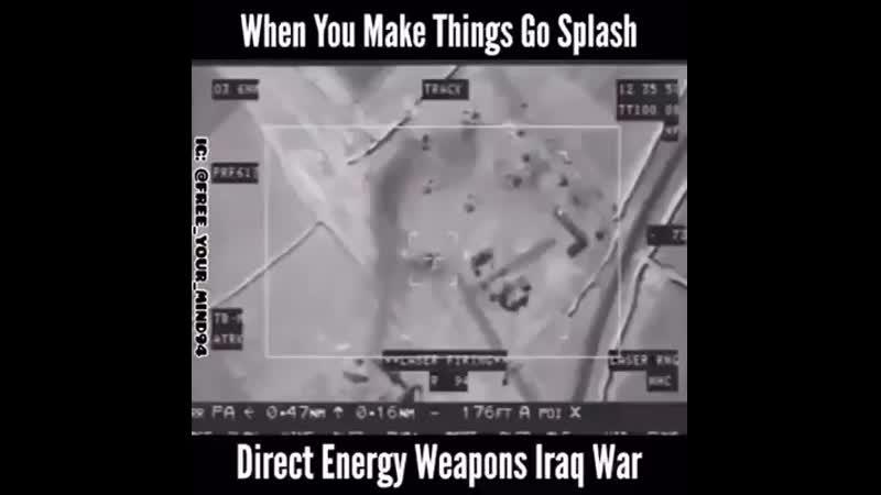 ARME CU ENERGIE DIRIJATA - IRAQ