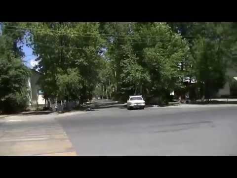 Тараз Джамбул Химпосёлок Видео панорама у ДК Химиков
