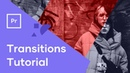 How To Use Motion Array Premiere Pro Template Transitions Template Transition Tutorial