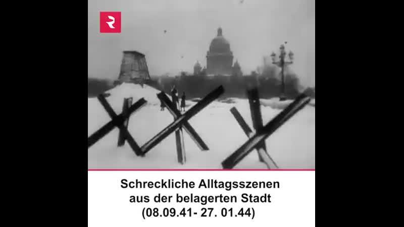 Schrecklicher Alltag während der Leningrader Blockade (VIDEO) - Russia Beyo.mp4
