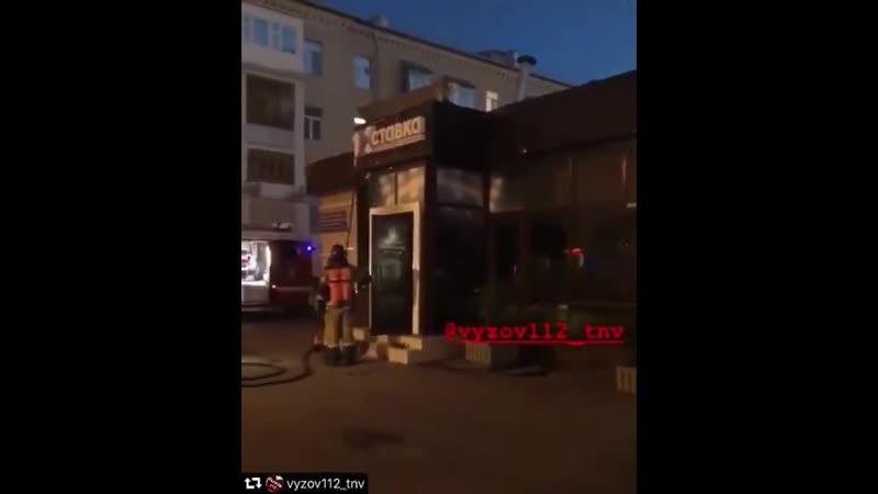 Казанец поджёг букмекерскую контору