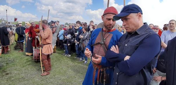 Игорь Артамонов поблагодарил участников «Русборга» за бережное хранение истории