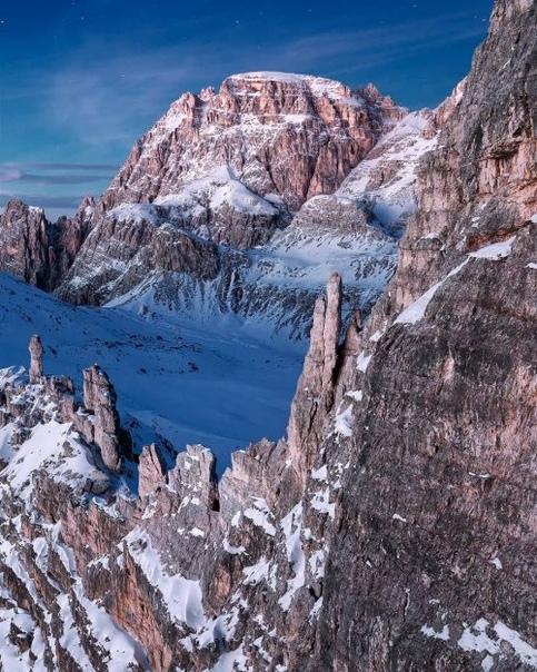 Захватывающая красота Альп