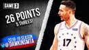 JJ Redick Full Highlights 2019 ECR1 Game 3 76ers vs Nets - 26 Pts, 5 Threes! | FreeDawkins