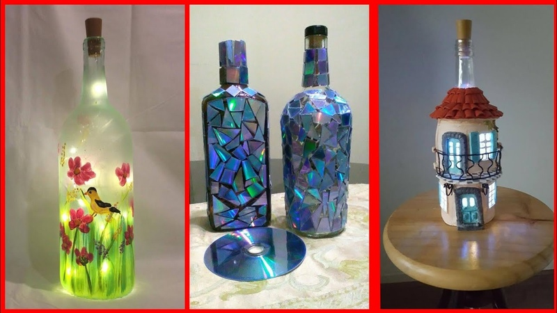 Beautiful bottle craft decoration ideas
