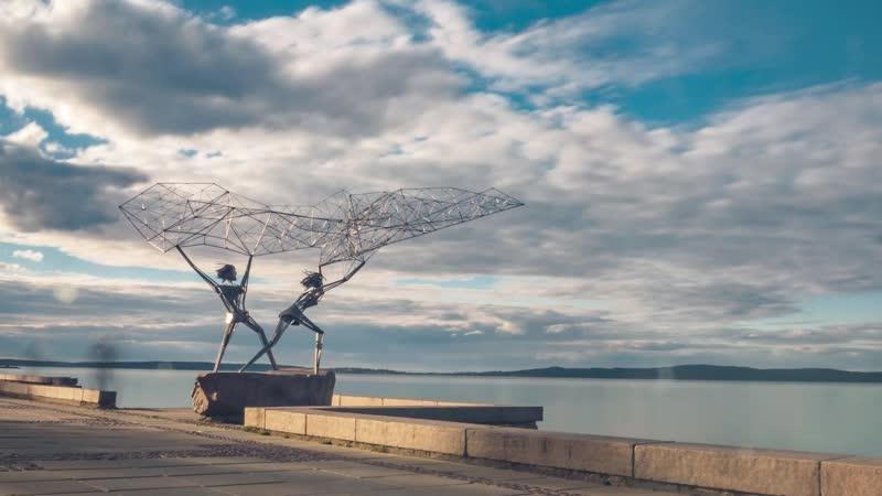 Облаки и рыбаки