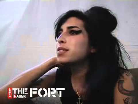 Amy Winehouse - Interview - @ The LevisFADER FORT