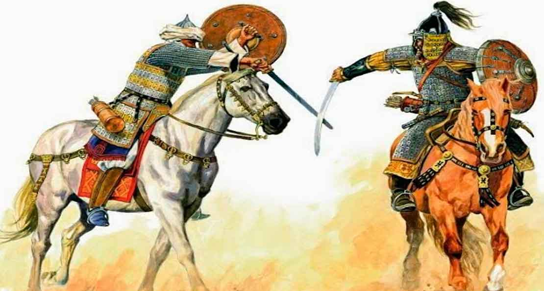 Схватка с монголом