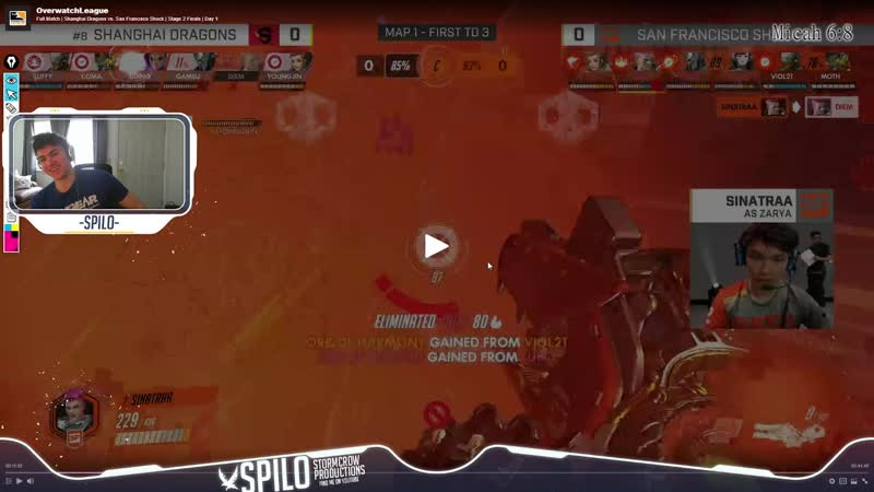 Spilo highlights Sintatraa's advanced Zarya mechanics