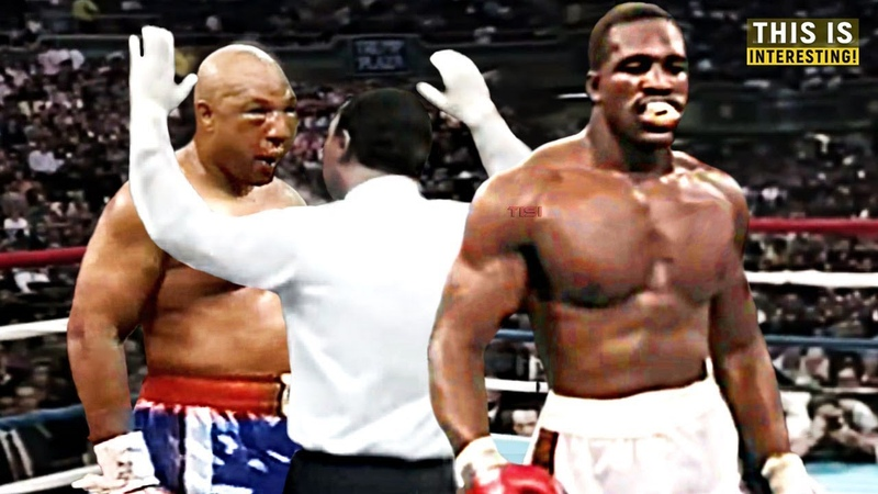 Brutal Fight Between George Foreman and Evander Holyfield