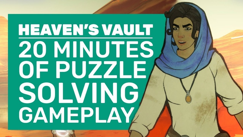 Heaven's Vault Gameplay   How Inkle Made The Greatest Archeology Game