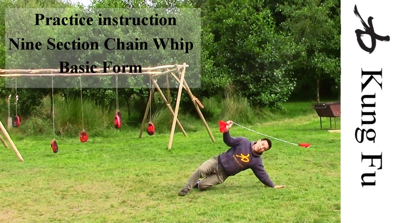 Nine Section Chain Whip - Practice Instructions
