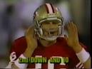 1987 Browns @ 49ers Week 12