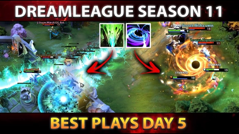 BEST PLAYS GROUPSTAGE Day 5 STOCKHOLM MAJOR DreamLeague Dota 2