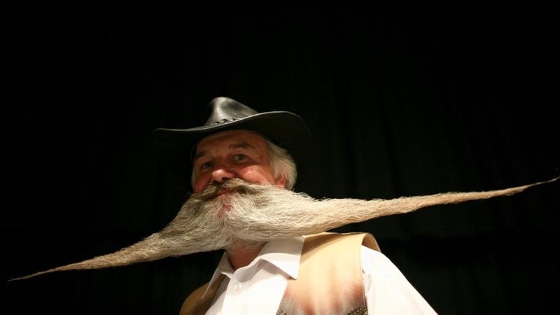 Чья борода лучше: чемпионат бородачей и усачей в Блэкпуле