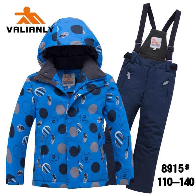 Зимний комплект Valianly 8915 синий