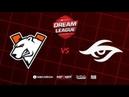 Virtus.pro vs Team Secret, DreamLeague Season 11 Major, bo3, game 1 [Casper GodHunt]