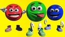 Смайлики и цвета.Смайлик цветной и смешной.Развивающие мультики для детей