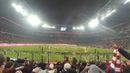 Atmosphere in the Allianz arena when Bayern Munich score