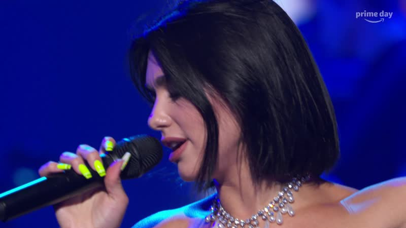 Dua Lipa - Electricity (Live at Amazons 2019 Prime Day Concert 10-07-2019) 4K