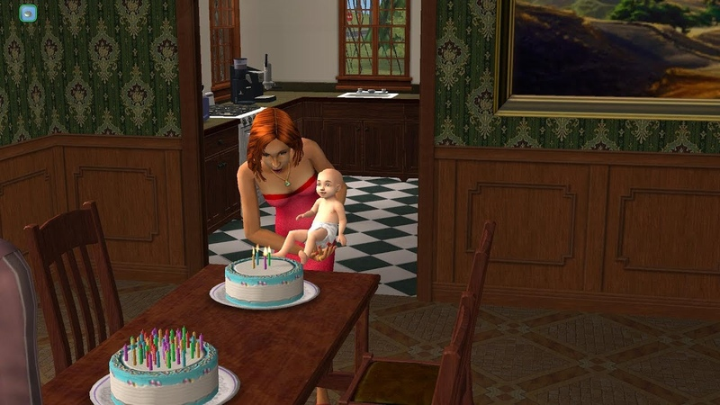 The Sims 2 22 Семья Гот