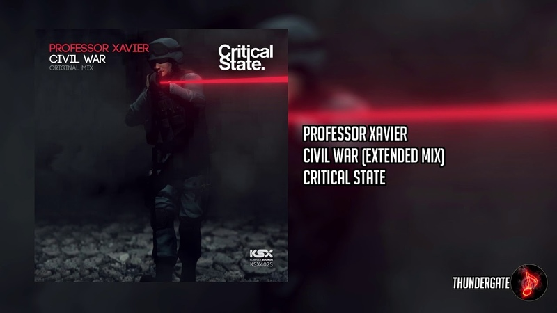 Professor Xavier Civil War Extended Mix Critical State