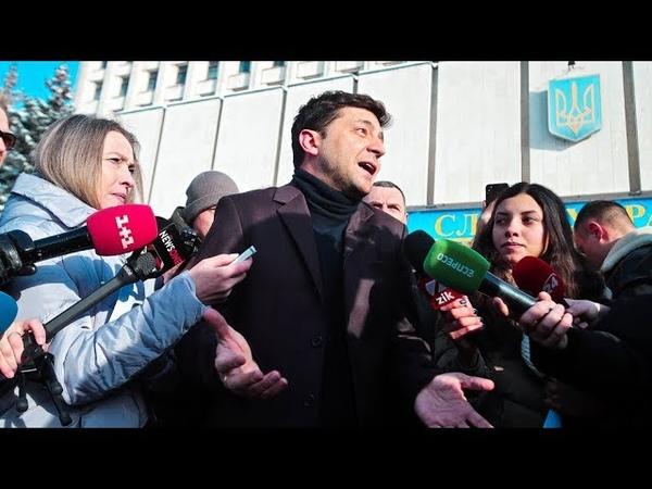 Почему Владимир Зеленский лидирует в президентском рейтинге Украины Фрагмент Ньюзтока RTVI