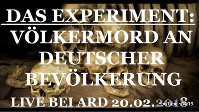 Völkermord-Experiment an deutscher Bevölkerung