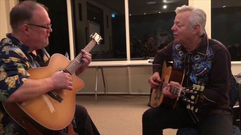 """Tommy Emmanuel plays One Mint Julep"""" and jams with Richard Smith"""
