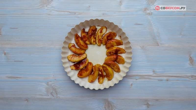 Творожная запеканка с яблоками - Рецепты от Со Вкусом