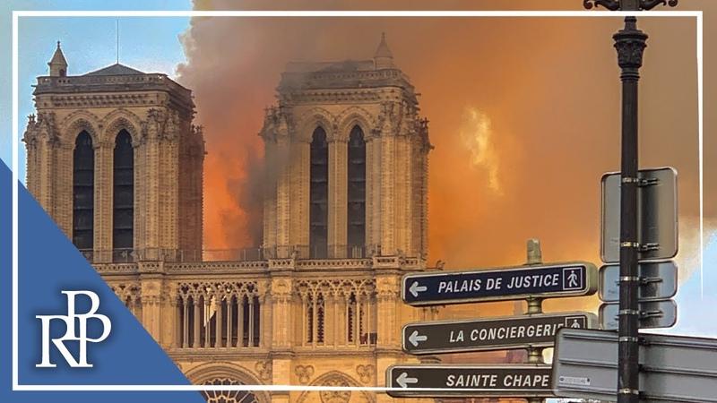 Notre-Dame brennt! Ein Symbol für den Zustand von Kirche Gesellschaft Psychiater analysiert