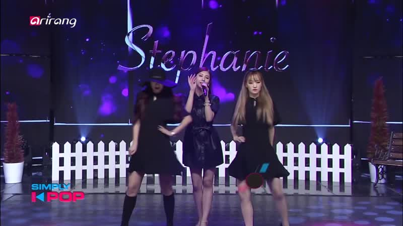 Stephanie Man On The Dance @ Simply K pop 190419
