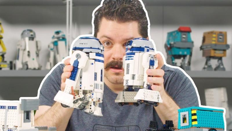 LEGO Star Wars BOOST Droid Commander Set Designer Video 75253