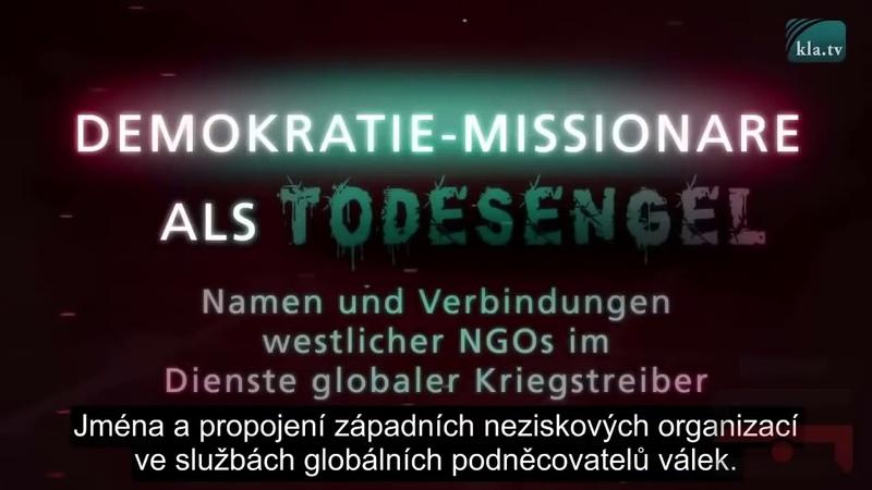 ODHALENIE Mimovládnych organizácií - misionári demokracie ako anjeli smrti