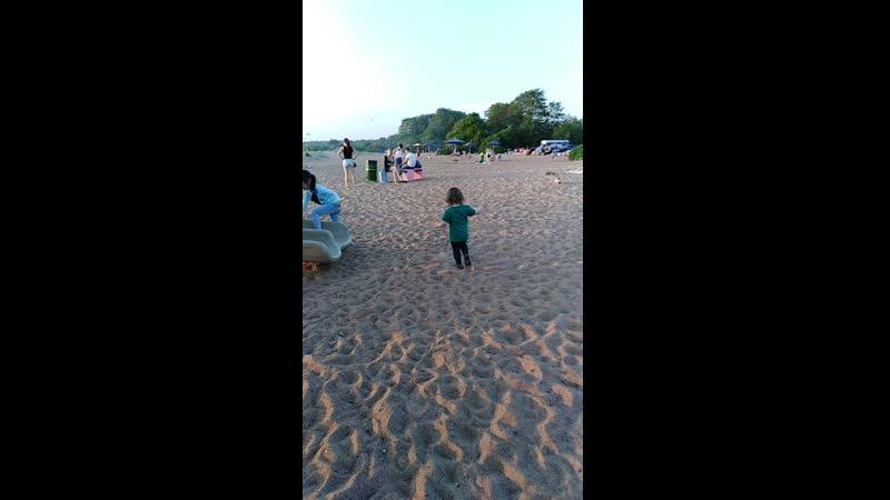 Дубковский пляж. Лика 05.06.19.