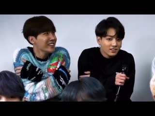 when joon said it was cold in seoul and hopekook just-