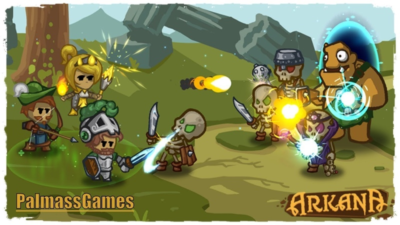Arkana Gameplay Android | New Mobile Game