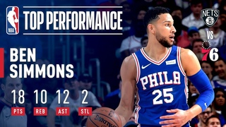 Ben Simmons Joins ELITE Company With 2nd Career Playoff TRIPLE-DOUBLE #NBANews #NBA #76ers #BenSimmons