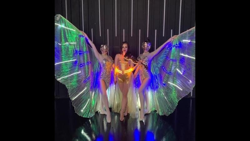 Скрипачка Stacie световое шоу Promo - Ivan Torrent Sky Sentinels cover. Заказать шоу