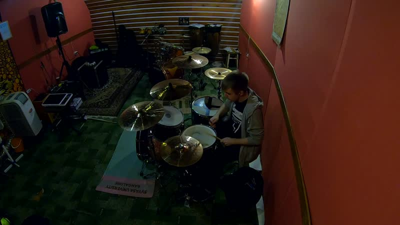 Нейромонах Феофан - Притоптать (drum cover)