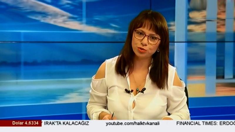 Türk spiker gömleğin azizliğine uğradı Semra Topçu