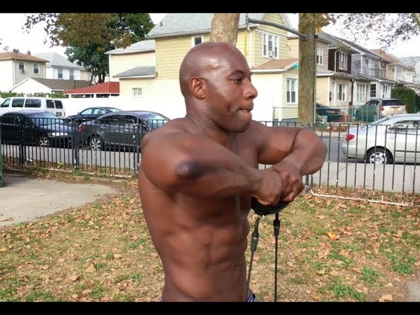 INSANE Shoulder PUMP Bodyweight Workout with Resistance Bands