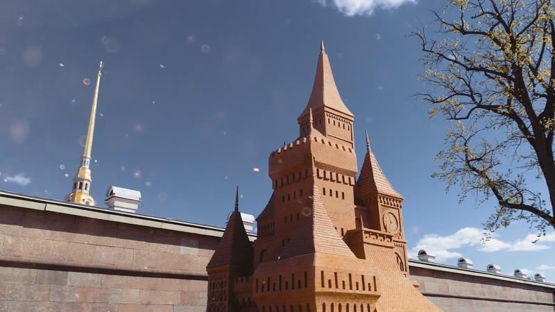Фестиваль песчаных скульптур в Петропавловской крепости до 8 сентября