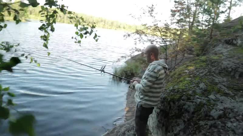 Скалы и озера. Чудесная природа Карельского перешейка.