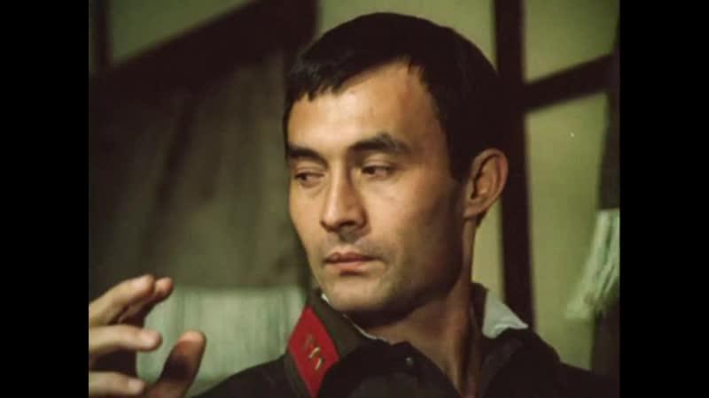 Т Нигматуллин в фильме Государственная граница Эпизод с задержанием в поезде